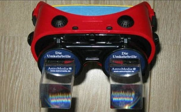 Реверсивные очки, переворачивающие изображение Reversing Goggles