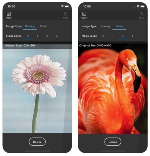 приложение для увеличения объема фотографий