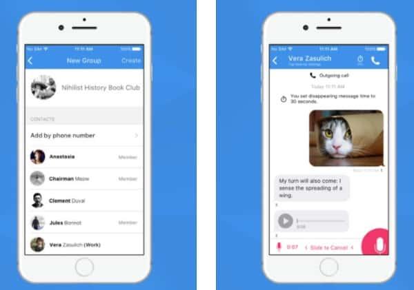 Приложение Signal - одна из лучших альтернатив Telegram