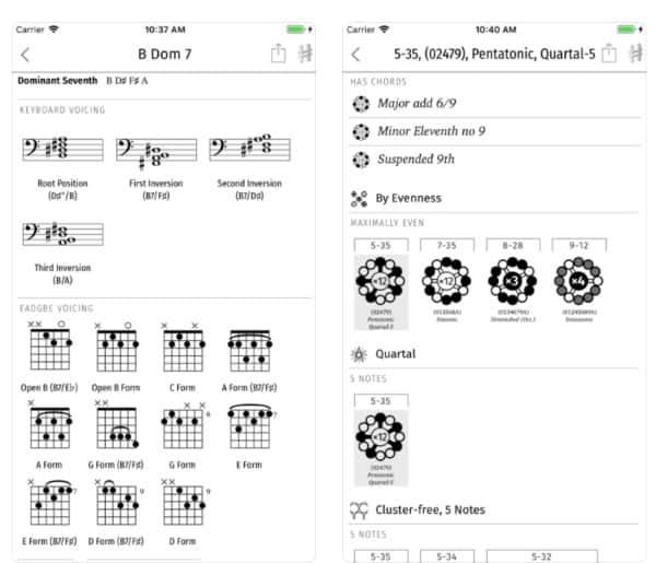 Harmonious - приложение для изучения теории музыки