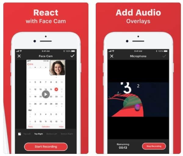 Go Record - приложение для записи видео с экрана iPhone