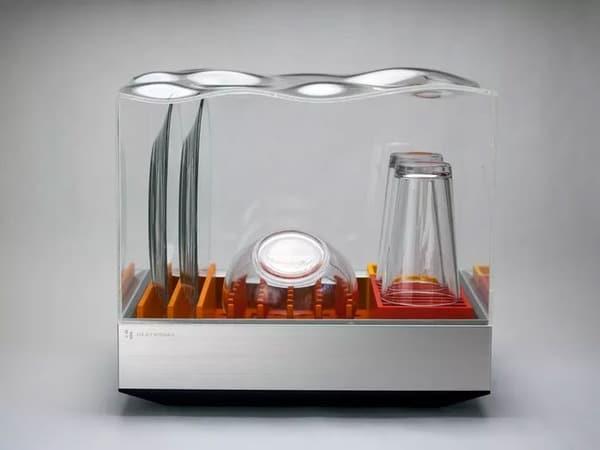 Компактная посудомоечная машина Tetra
