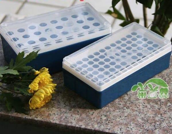 Пластиковая коробочка для проращивания семян