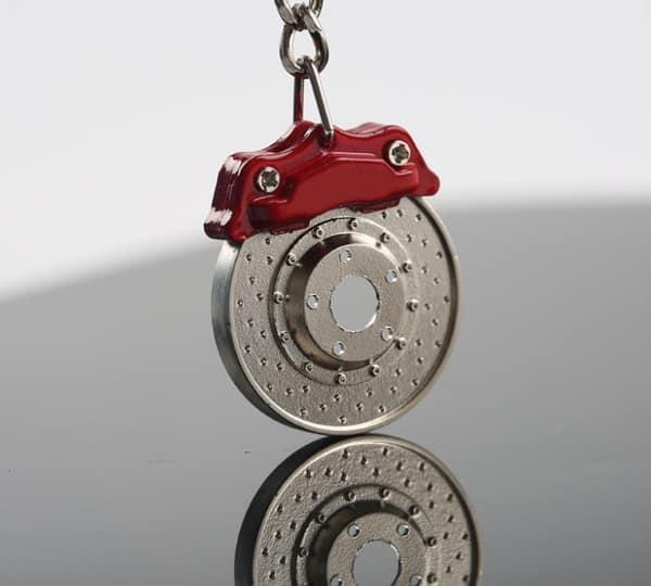 Брелок в виде дискового тормоза