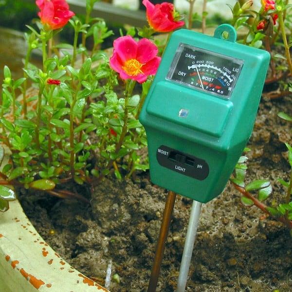 Прибор для определения кислотности почвы