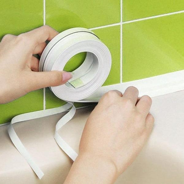 Изоляционная лента для обклейки углов ванны и раковины