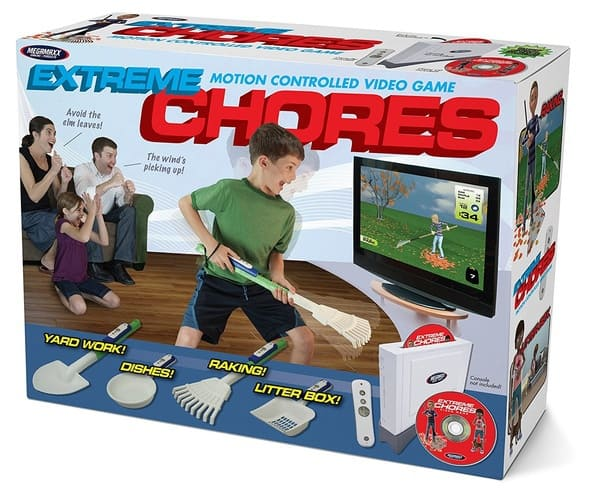 Подарок-розыгрыш, приобщающий детей к физическому труду Extreme Chores