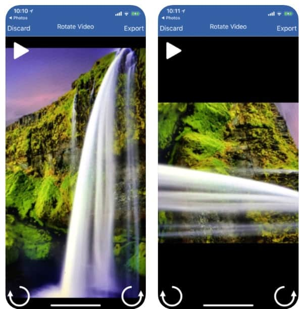 Rotate Video Pro — приложение для переворачивания видео