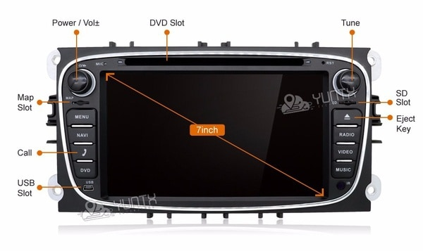 Многофункциональное развлекательное устройство для Ford Focus