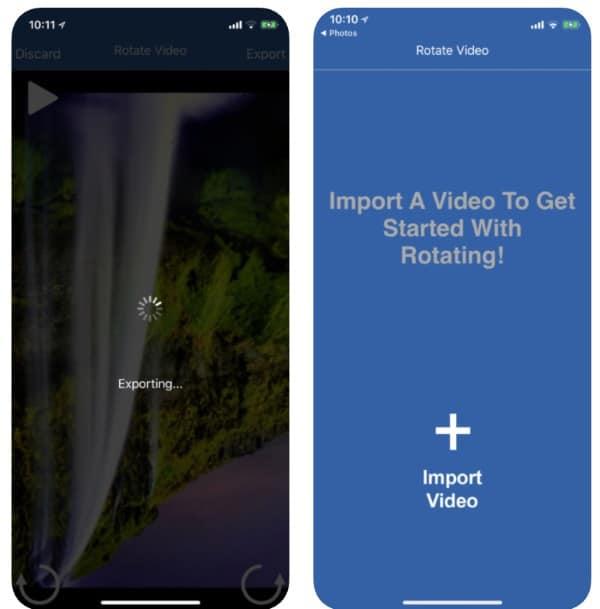Rotate Video Pro - приложение для переворачивания видео