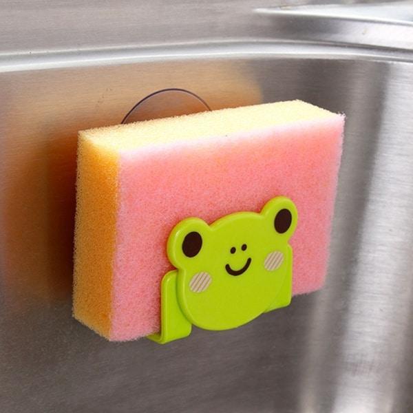 Мультяшный держатель для кухонной губки и мыла