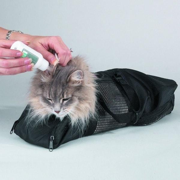 Смирительная сумка для кошек