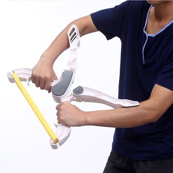X-образный эспандер для тренировки рук и плечей
