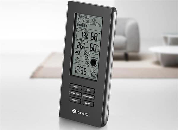 Многофункциональный прибор для слежения за погодой