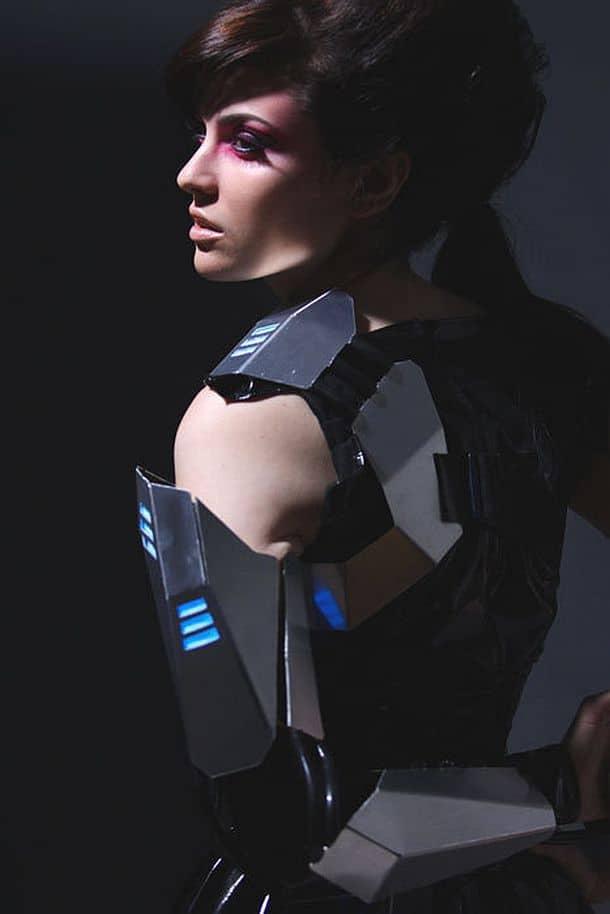 Защитные щитки для рук Cyber Gladiator Armor