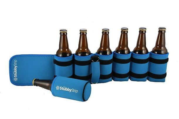 Портативный держатель для переноски бутылок StubbyStrip