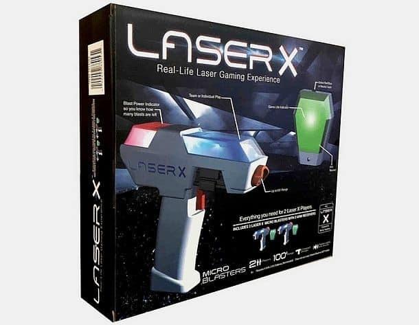 Минибластеры для лазертага Laser X