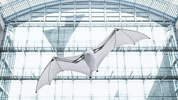 Летающая лиса Festo BionicFlyingFox