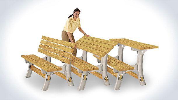 Комплект для самостоятельной сборки скамьи-столика Hopkins 90110ONLMI