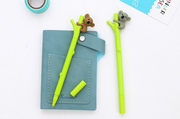 Гелевая ручка с коалой