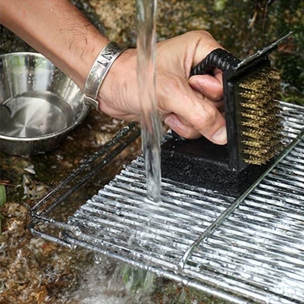 Многофункциональная щётка для чистки решётки гриля