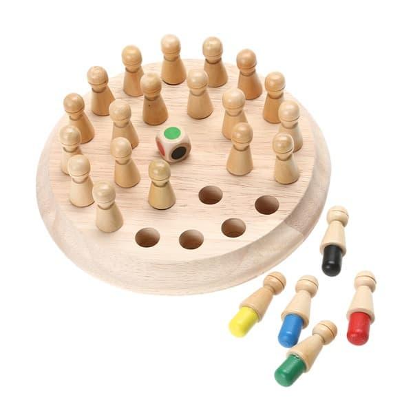 Деревянная игрушка-головоломка для маленьких детей
