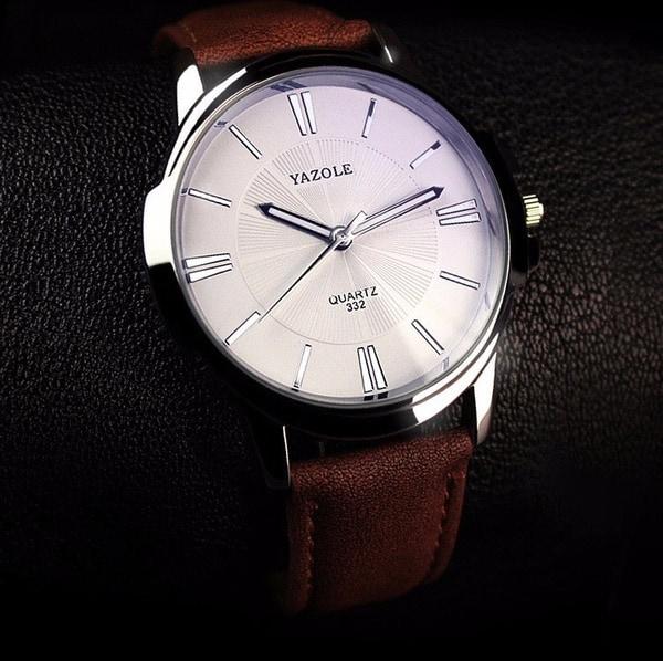 Классические часы Yazole