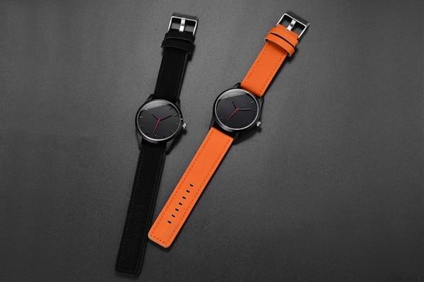 Часы с минималистичным дизайном