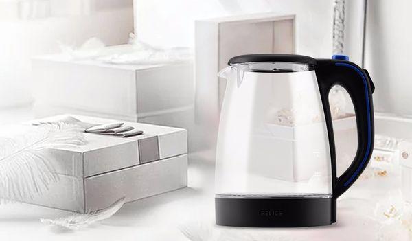 Электрический чайник с прозрачными стенками