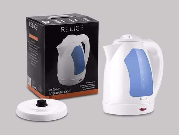 Домашний электрочайник объёмом 2 литра от Relice
