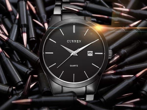 Простые часы для деловых людей Curreen
