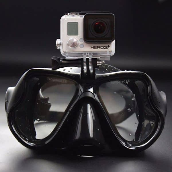 Нырятельная маска с креплением для экшн-камер