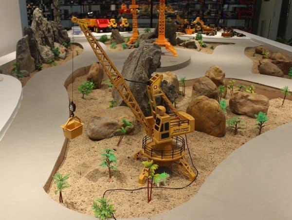 Модель строительного крана