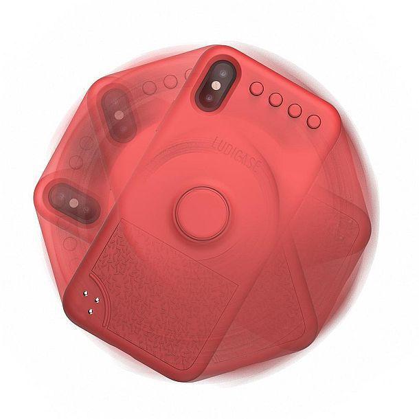 Защитный чехол для айфонов со спиннером Ludicase