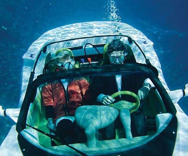 Подводный спортивный кабриолет Submarine Sports Car