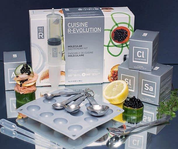Комплект для приготовления блюд молекулярной кухни Molecule-R Cuisine R-Evolution Kit