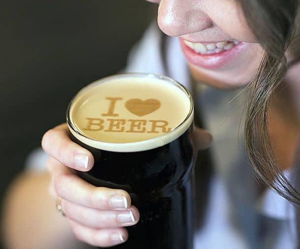 Принтер для пива Beer Ripples