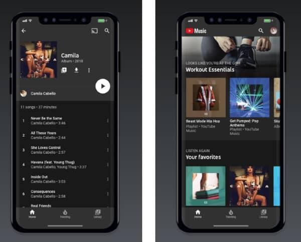 YouTube Music - новое музыкальное приложение от Google