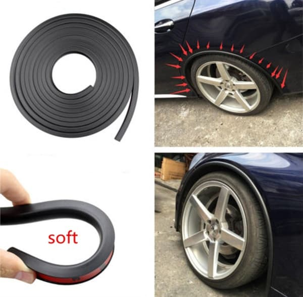 Резиновая защита для колёсных арок