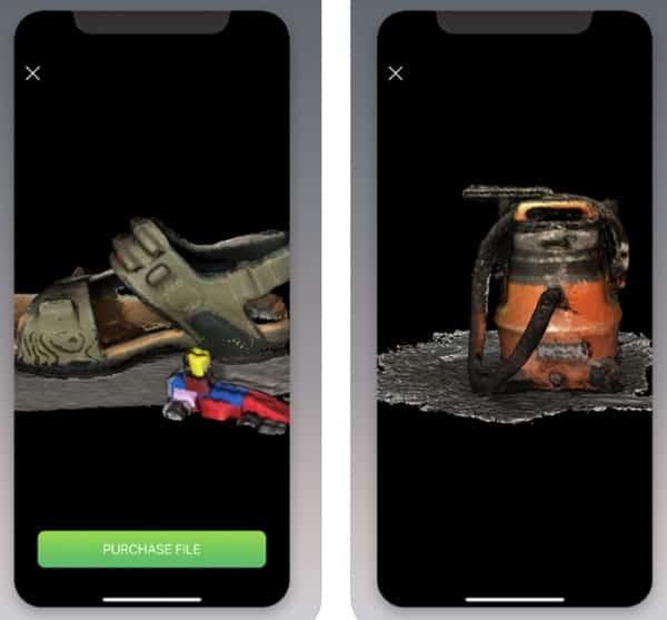 Scandy Pro - приложение для 3D-сканирования в iPhone X
