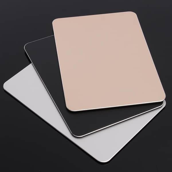 Алюминиевый коврик для компьютерной мыши