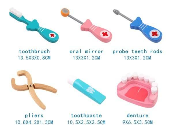 Игрушечный набор юного стоматолога