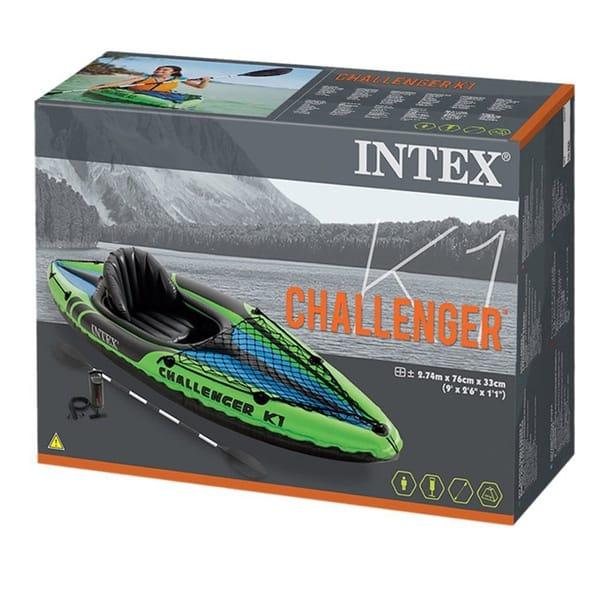 Надувной каяк Intex Challenger K1