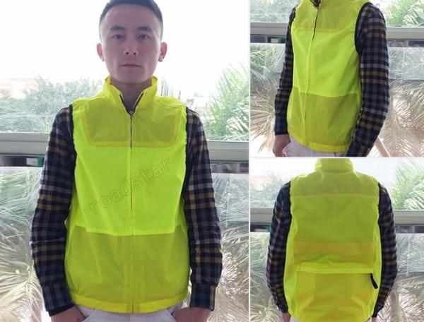 Светоотражающая курточка-безрукавка