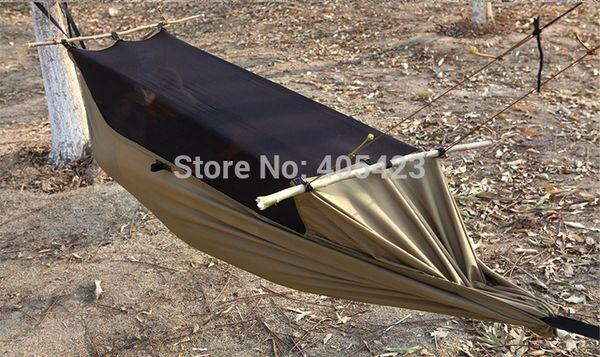 Туристический гамак с защитной сеткой