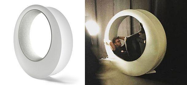 Дизайнерское кресло-качалка O-Rocker