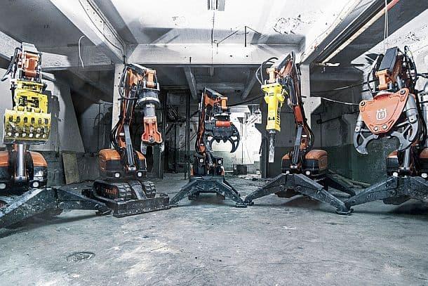 Робот-крушитель Husqvarna
