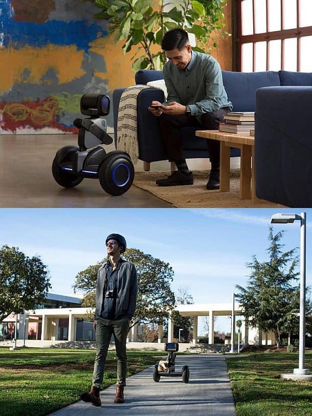 Робот-гироскутер Segway Loomo