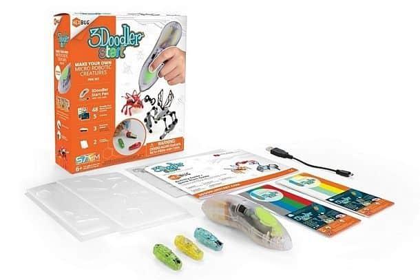 Комплект для создания трехмерных моделей роботов 3Doodler Robotic Pen Set