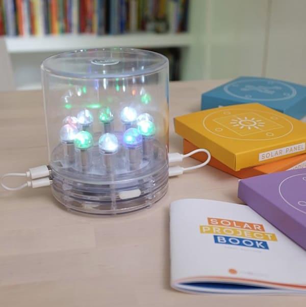 Набор для сборки LED-светильника на солнечной панели